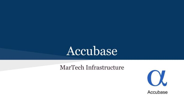 MarTech Infrastructure Planning